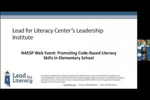 Lead For Literacy Promoting Code Based Instruction
