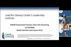 Highlighting Key Considerations For Literacy Screening and Assessment 11 19 20