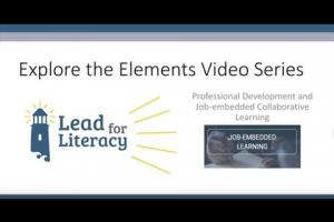 Explore the Elements: Job-Embedded Learning