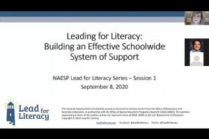 Leading for Literacy: Building an Effective Schoolwide Multi-Tiered System of Support